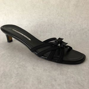 Donald J Pliner Shoes 9 N Black Heels 9N